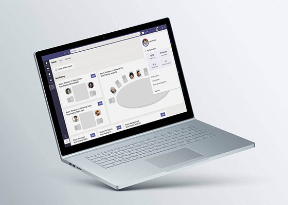 Microsoft Teams Game Center